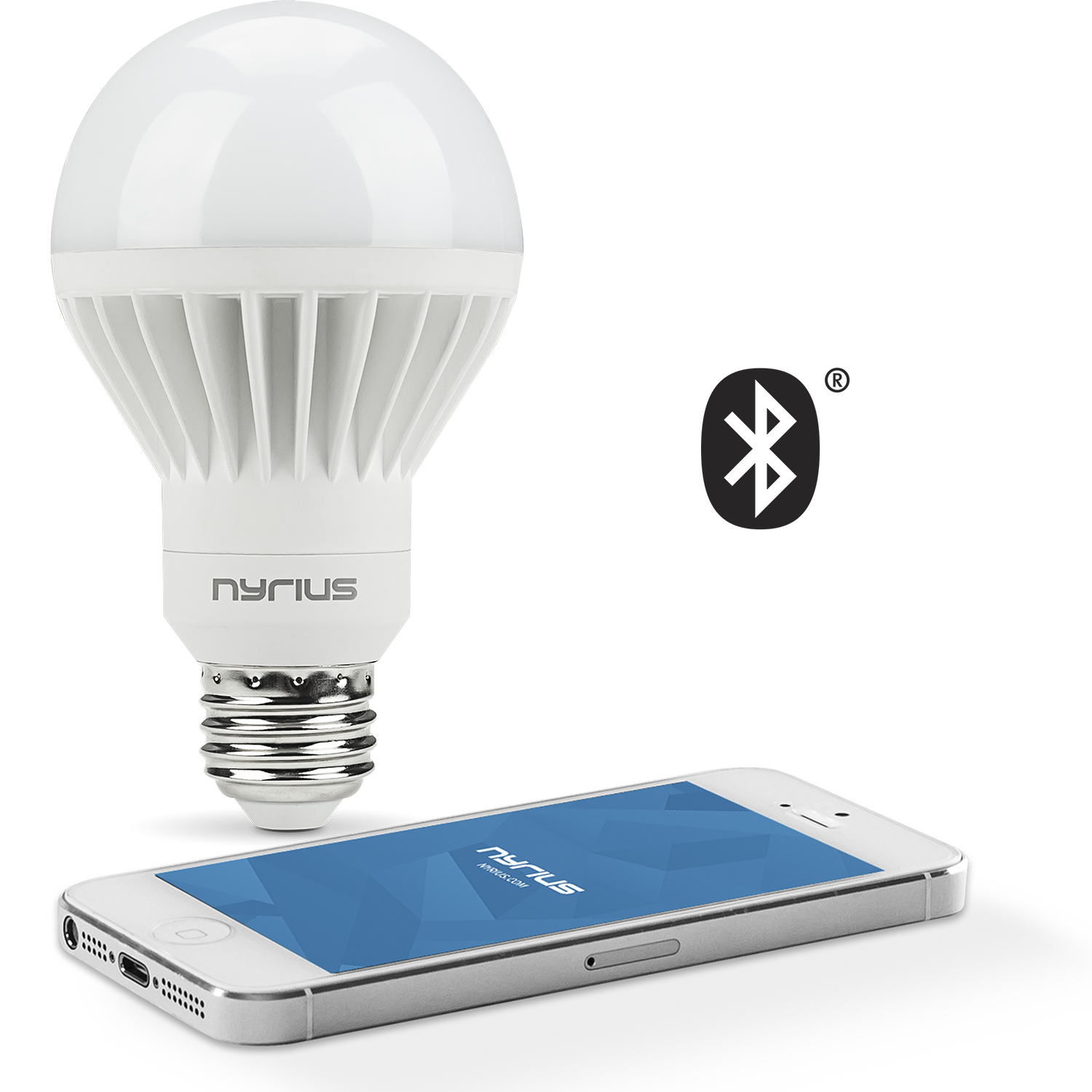 Wireless Smart LED White Light Bulb