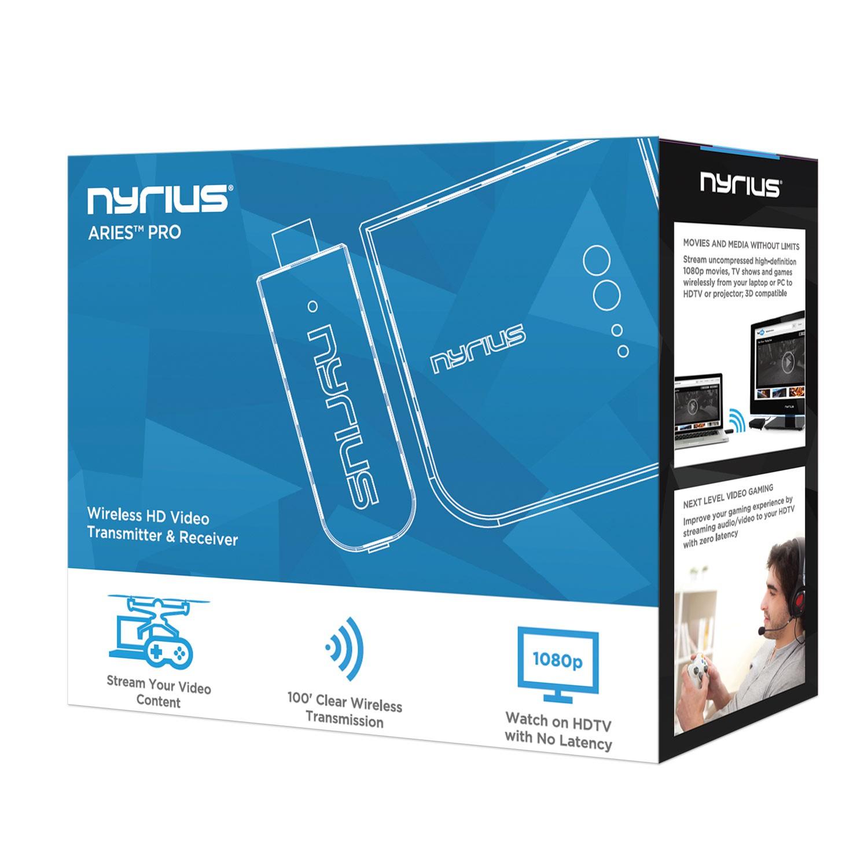 NPCS600 ARIES Pro Wireless HD Transmitter & Receiver | Nyrius