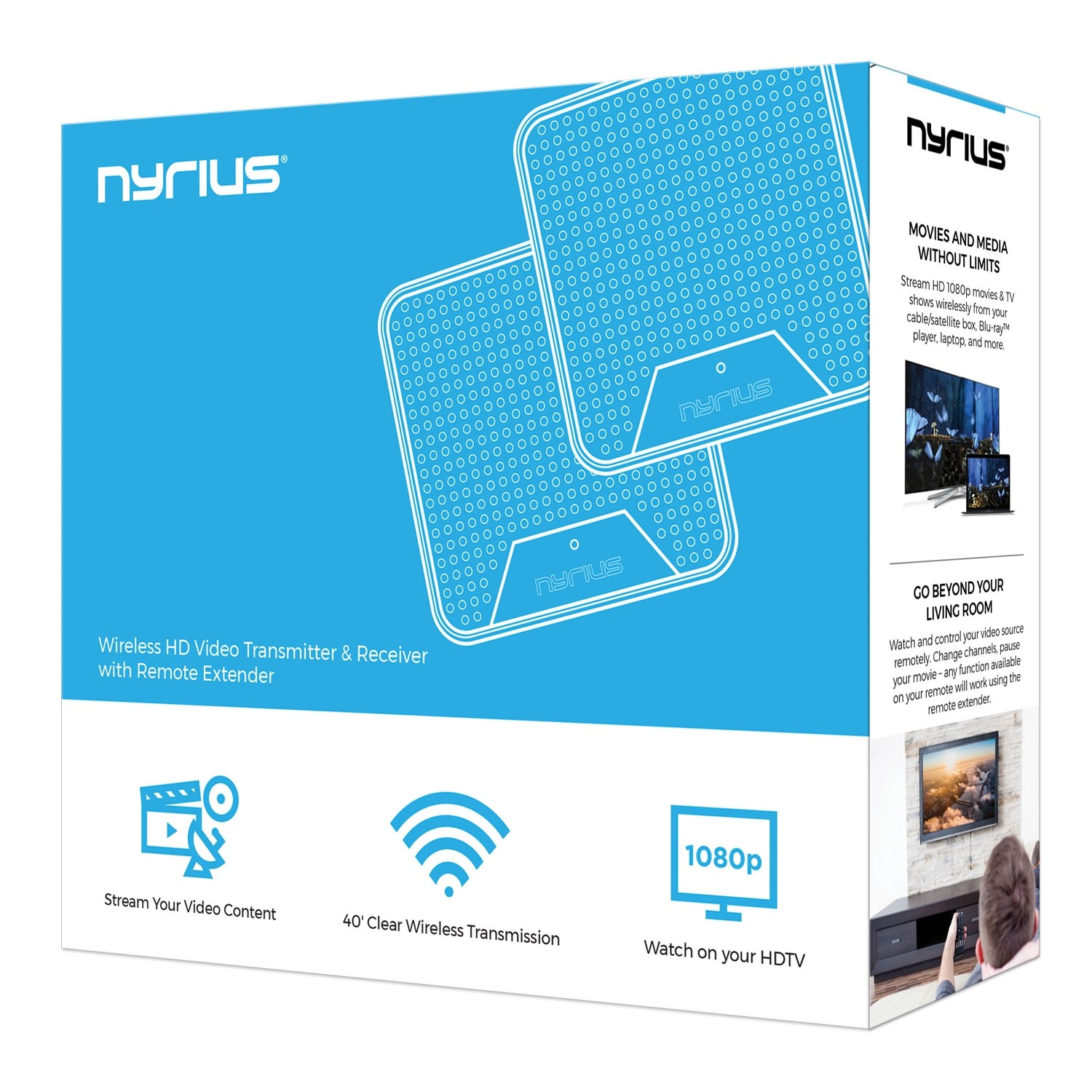 ORION Home Wireless HD Video Transmitter & Receiver | Nyrius