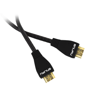 High Speed HDMI Cable (6 Feet) Supports 3D, Ethernet, & Audio Return - Main
