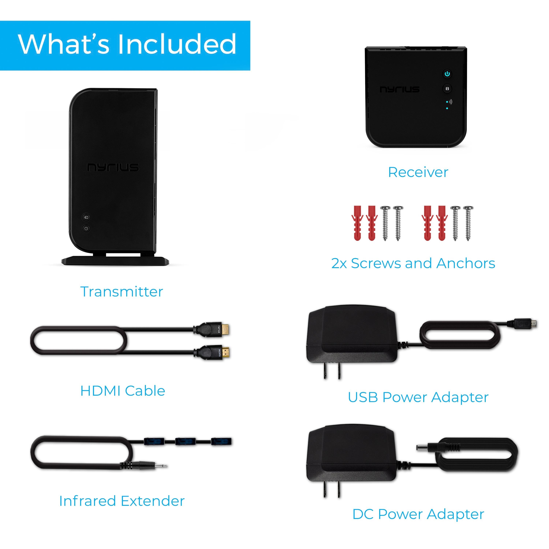 ARIES Home Wireless HD Video Digital Transmitter & Receiver